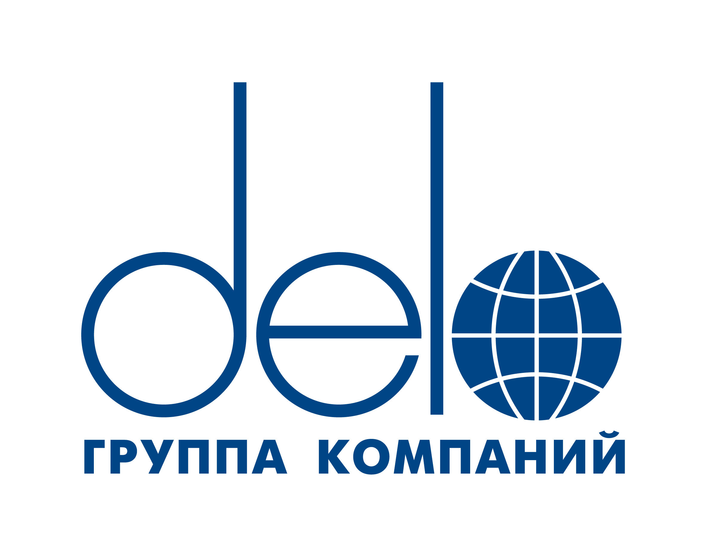 DELO Group logo blue